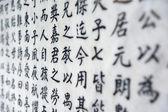 čínský znak pozadí — Stock fotografie