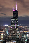 Willis Tower in Chicago — Stock Photo