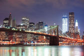 New York City Brooklyn Bridge — Stock Photo