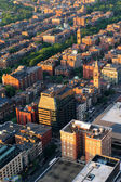 Urban city aerial view — Stock Photo