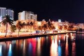 Miami south beach street — Stock Photo