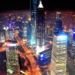 Shanghai at night — Stock Photo #14242975