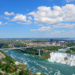 Niagara Falls Panorama - Stock Photo