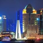 Shanghai at night — Stock Photo