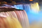 Niagara falls en couleurs — Photo