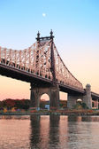 Queensboro Bridge sunset — Stok fotoğraf