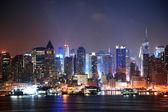 美国纽约市曼哈顿 — 图库照片
