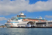 Cruise ship in Miami — Stock Photo