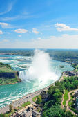 Horseshoe Falls aerial view — Stock Photo