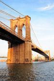 New york city manhattan brooklyn brücke — Stockfoto