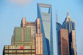 Shanghai skyline — Stock Photo