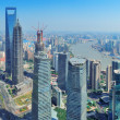 Shanghai aerial panorama — Stock Photo #15262757