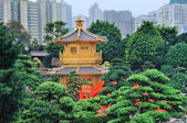 Hong Kong garden — Stockfoto