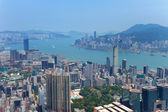 Aérienne de hong kong — Photo