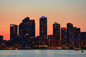 Toronto sunset — Stock Photo
