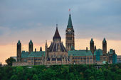 Ottawa morning — Stock Photo