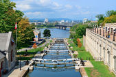 Ottawa Rideau Canal — Stock Photo