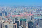 Shanghai aerea nel giorno — Foto Stock