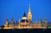 Ottawa di notte — Foto Stock