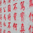 Chinese character background — Stock Photo