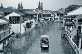 Città di zhujiajiao in shanghai — Foto Stock