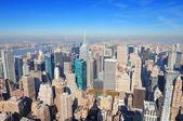 Rascacielos de la ciudad de nueva york — Foto de Stock