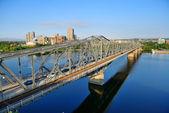 Most Alexandra — Zdjęcie stockowe