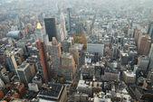 ニューヨーク市マンハッタン スカイライン空中ビュー — ストック写真