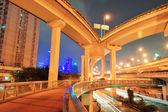 Autobahnbrücke in shanghai — Stockfoto