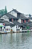 Shanghai lantlig by — Stockfoto