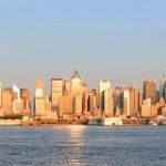 New York City Manhattan sunset — Stock Photo #19622633
