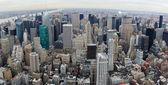 New York City manhattan panorama — Stock Photo