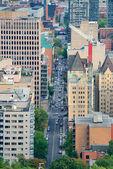 Montreal gatuvy — Stockfoto