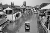 Zhujiajiao stad i shanghai — Stockfoto