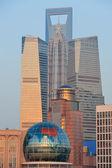Shanghai cityscape — Stok fotoğraf
