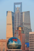 Shanghai stadsbild — Stockfoto