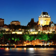 Постер, плакат: Quebec City at night