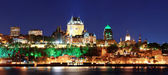 Quebec City at night — Stock Photo