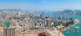 Hong Kong aerial view — Foto de Stock