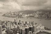 Hong kong flygfoto — Stockfoto