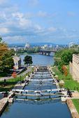 Canal rideau ottawa — Foto de Stock