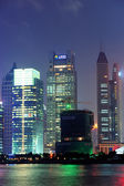 Shanghai at night — Stock Photo