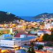 St Thomas mountain view in early morning — Stock Photo #22743849