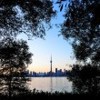 Toronto sunset — Stock Photo