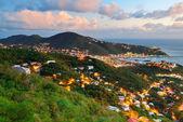 St Thomas sunset — Stock Photo