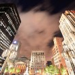 Stock Photo: Old Montreal at night