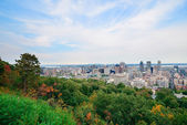 Montreal day view — Stock Photo