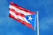 Bandera del estado de puerto rico — Foto de Stock