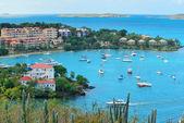 St John bay panorama — Stock Photo