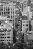 Widok ulicy montreal — Zdjęcie stockowe